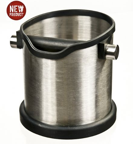 PRO-TAMP Deluxe Stainless Steel Knock Box